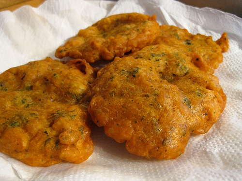 Bacalaitos or saltfish fritters caribvue for Cod fish fritters