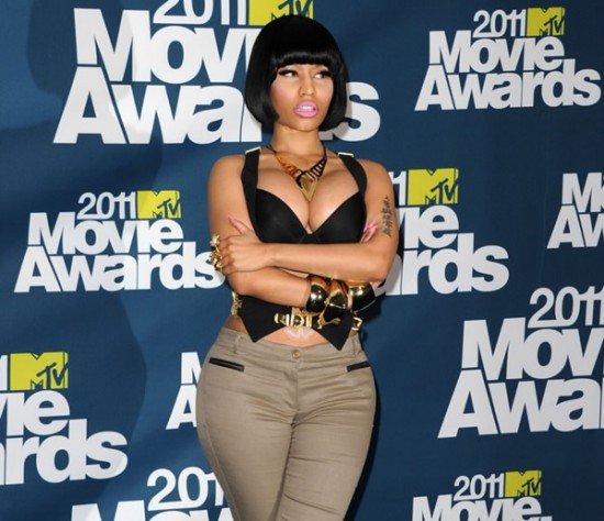 nicki minaj 2011 mtv movie awards. Nicki Minaj: MTV Movie Awards
