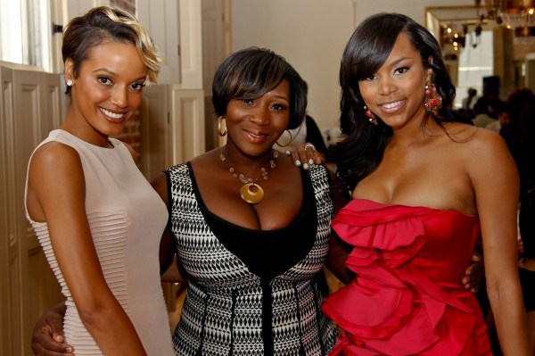 NEW ORLEANS, LA - JULY 3: Selita Ebanks, Bevy Smith and LeToya Luckett attends Brunch with Bevy presented by Belvedere in honor of Selita Ebanks Charity